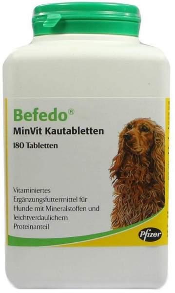 Befedo Minvit Kautabletten für Hunde 180 Kautab...
