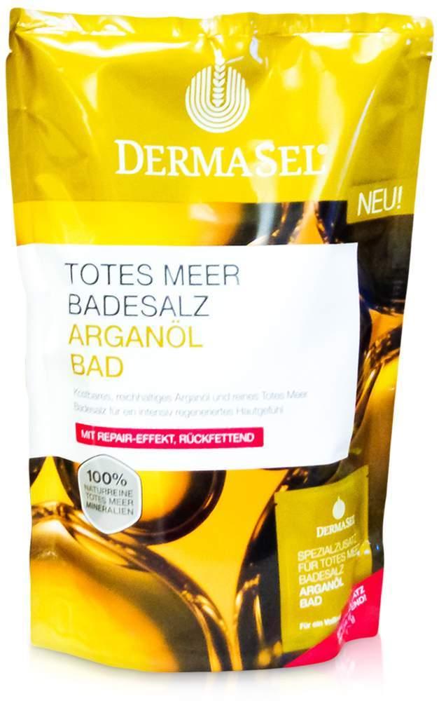 Dermasel Totes Meer Badesalz + Arganöl 1 Kombip...