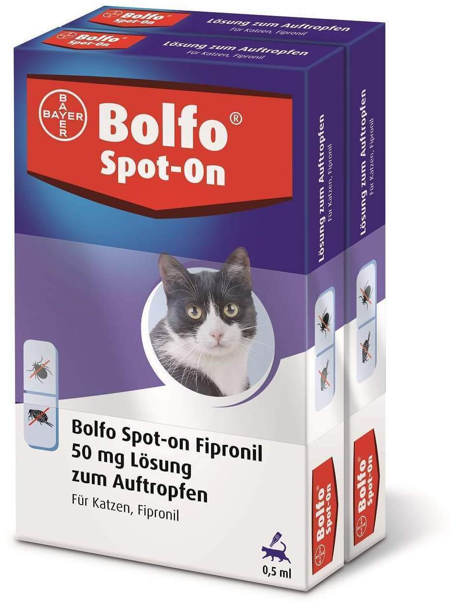Bolfo Spot On für Katzen 2 x 3 Pipetten