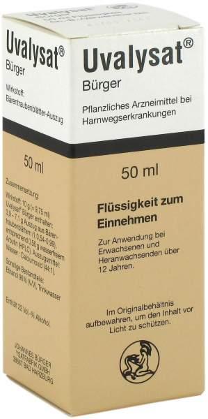 Uvalysat Bürger 50 ml Tropfen