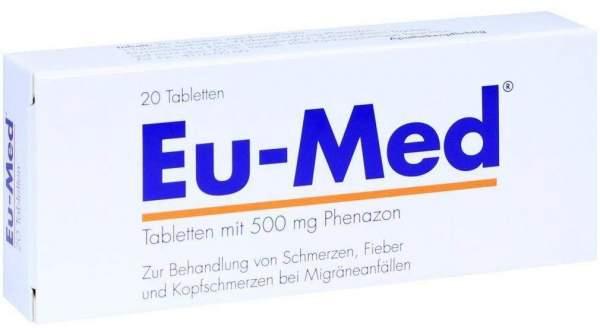 Strathmann GmbH & Co.KG Eu-Med Tabletten 20 Tabletten - 20 Tabletten