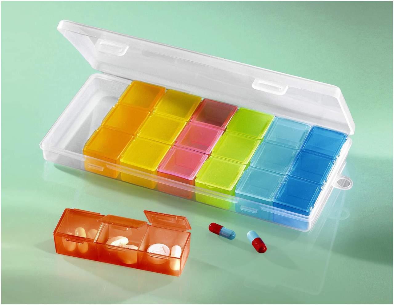 Tabletten Organisator, 1 Stück -