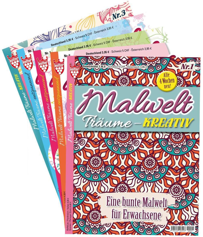Malbuch für Erwachsene -