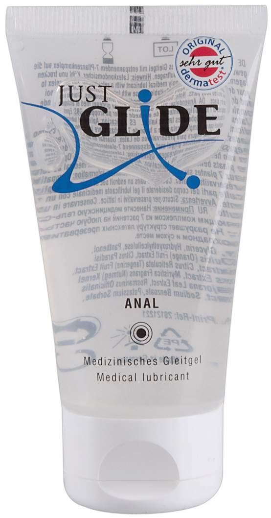 Just Glide Med.Gleitgel Anal 50 ml Gel