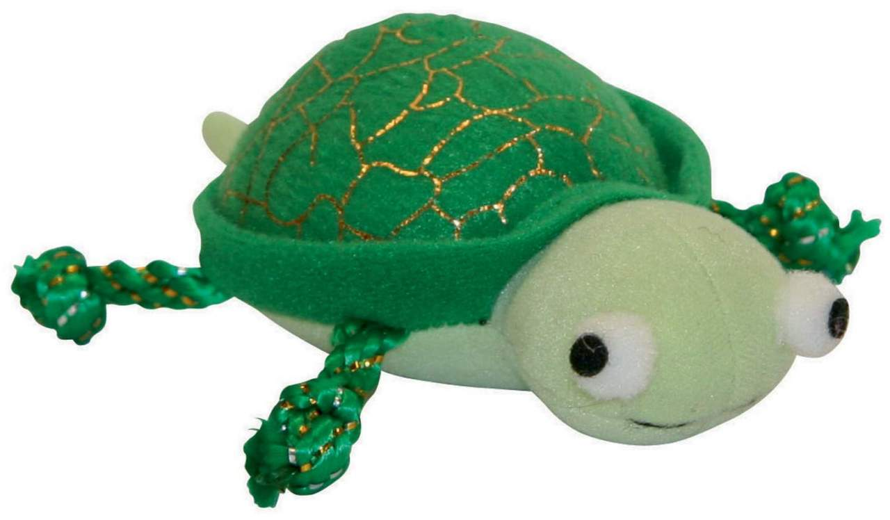 Katzenspielzeug Zappel Schildkröte 11cm