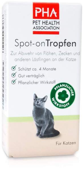 Pha Spot-On Tropfen für Katzen 2 x 1.5 ml Tropfen