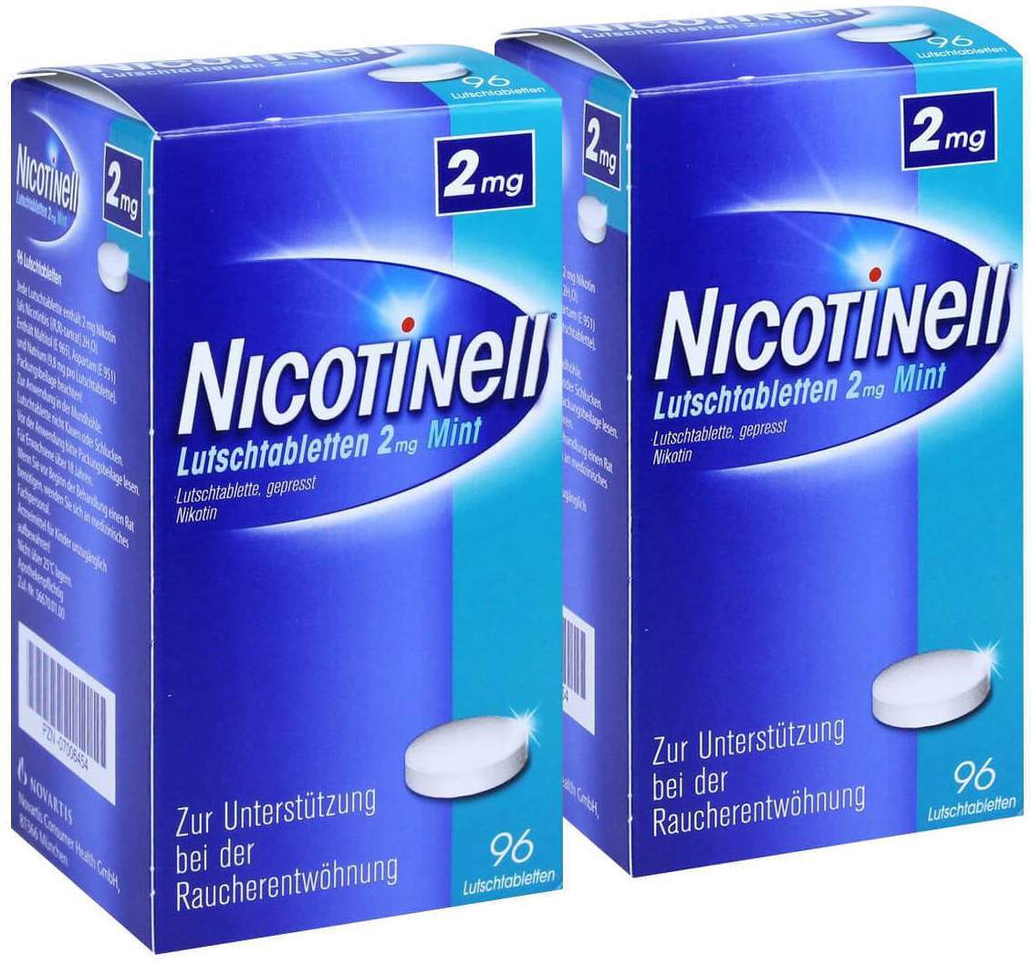 Sparset Nicotinell Lutschtabletten 2 mg Mint 2 ...
