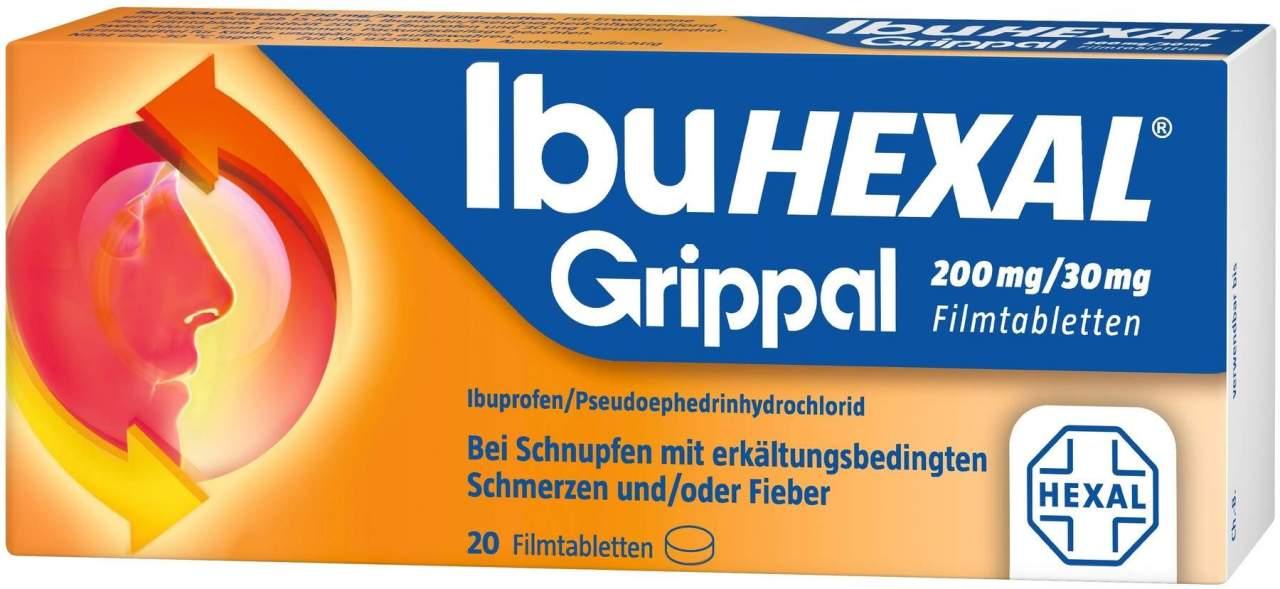 Ibuhexal Grippal 200 mg - 30 mg 20 Filmtabletten
