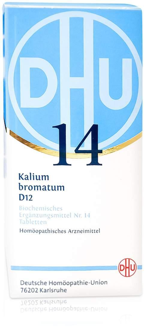 Biochemie DHU 14 Kalium bromatum D12 420 Tabletten