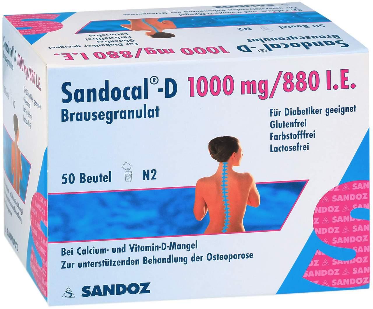 Sandocal D 1000 880 Granulat 50