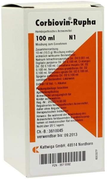Corbiovin Rupha 100 ml Liquidum