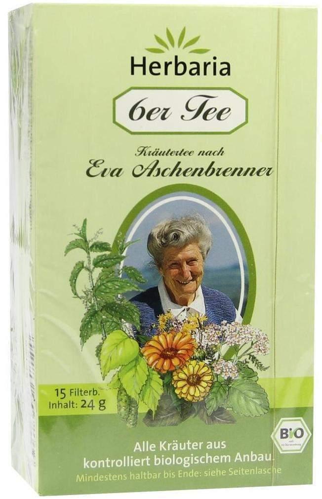 6er Tee Nach Eva Aschenbrenner Filterbeutel 15 ...