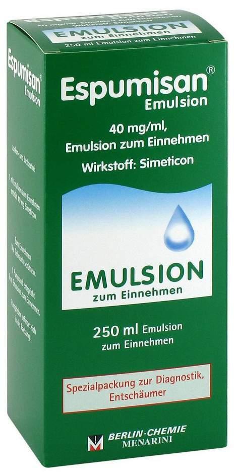 Espumisan 250 ml Emulsion Für Bildgebende Diagnostik