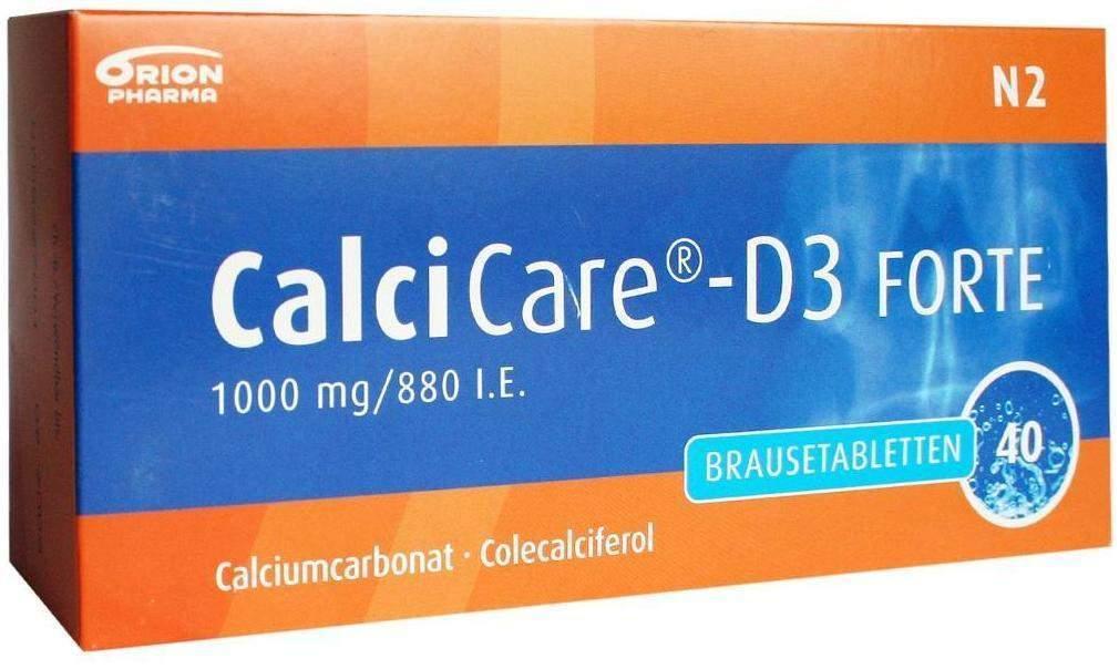 Calcicare D3 Forte 40 Brausetabletten