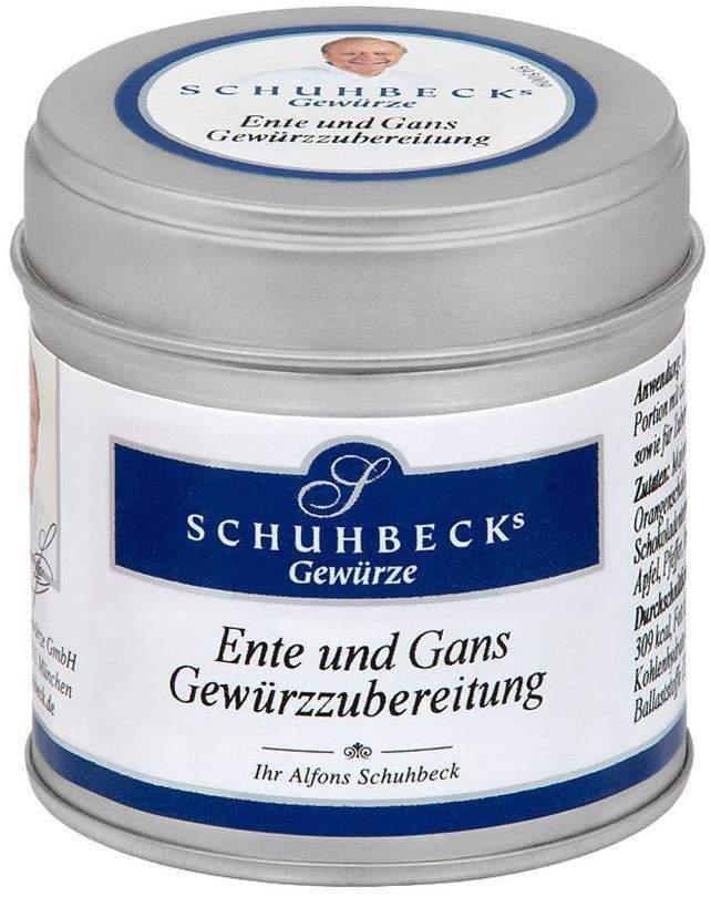 Schuhbecks Gewürz Ente - Gans 40 g Gewürzzubere...