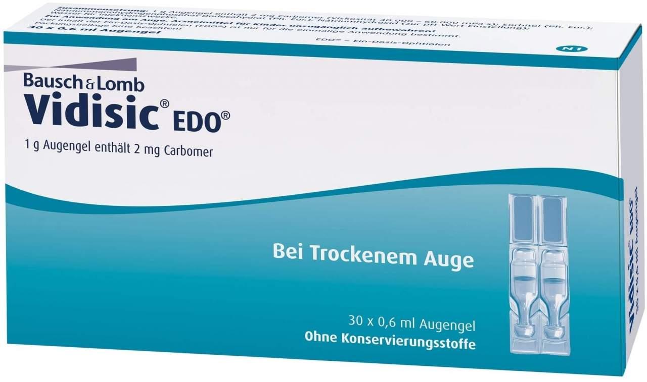 Vidisic EDO 30 x 0.6 ml Augengel - 30 X 0.6 ml Augengel