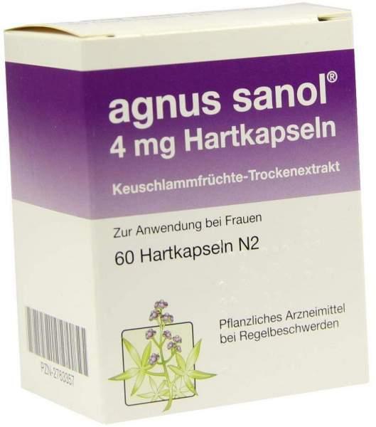 Agnus Sanol 4 mg Hartkapseln 60 Hartkapseln