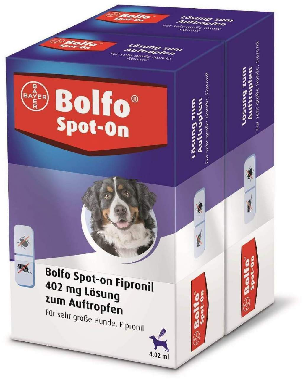 Bolfo Spot On für sehr große Hunde bis 60 kg 2 ...