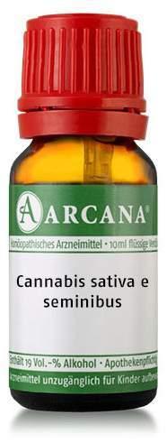 Cannabis Sativa E Seminibus Lm 3 Dilution