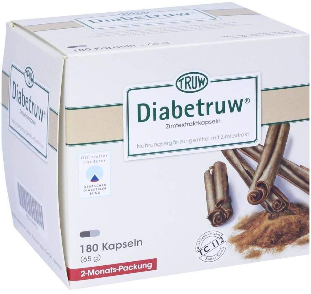 Diabetruw 180 Zimtkapseln