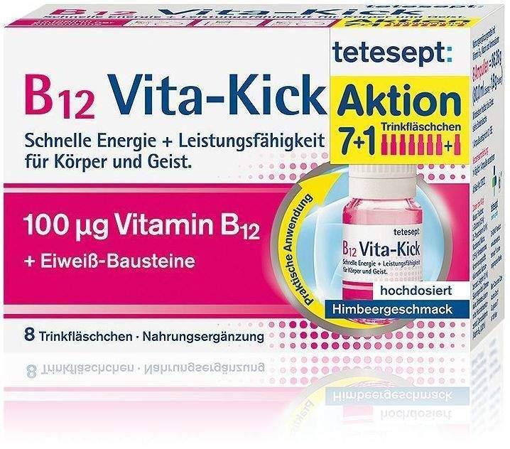 Tetesept B12 Vita - Kick 8 Trinkfläschchen