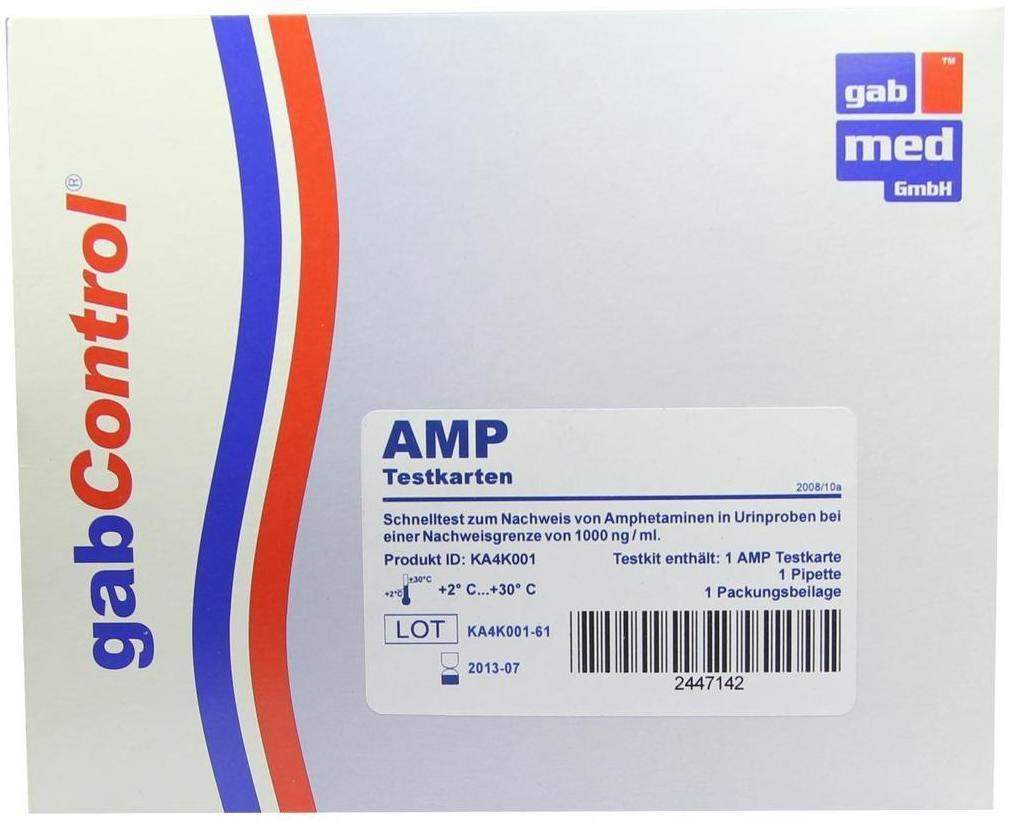 Drogentest Amphetamin Testkarte 1 Test