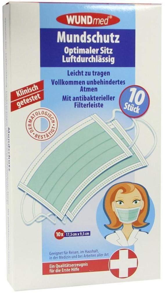 Mundschutz mit antibakterieller Filterleiste 10...
