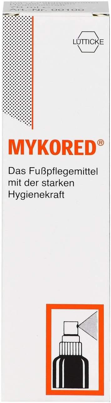 Mykored gegen Fuß- und Nagelpilz 70 ml - 70 ml Spray