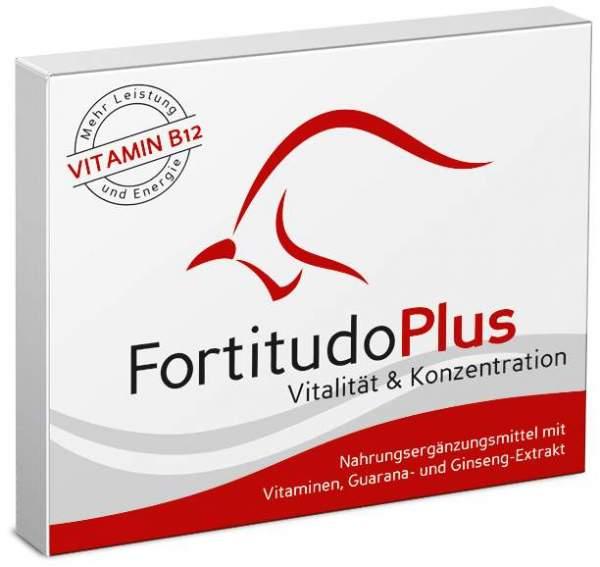 Fortitudo plus - Vitalität & Konzentration 30 T...
