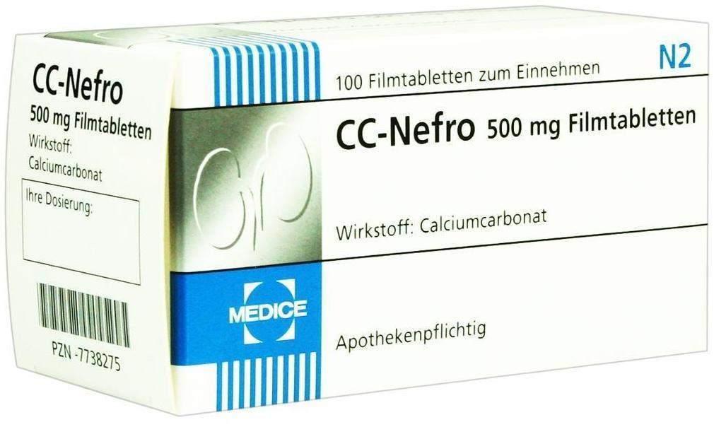 CC Nefro Filmtabletten 100 Filmtabletten