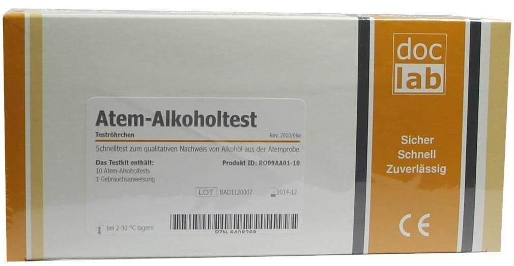Alkoholtest Atem 0,5 10 Teststreifen