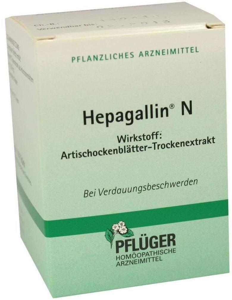 Hepagallin N 100 Dragees