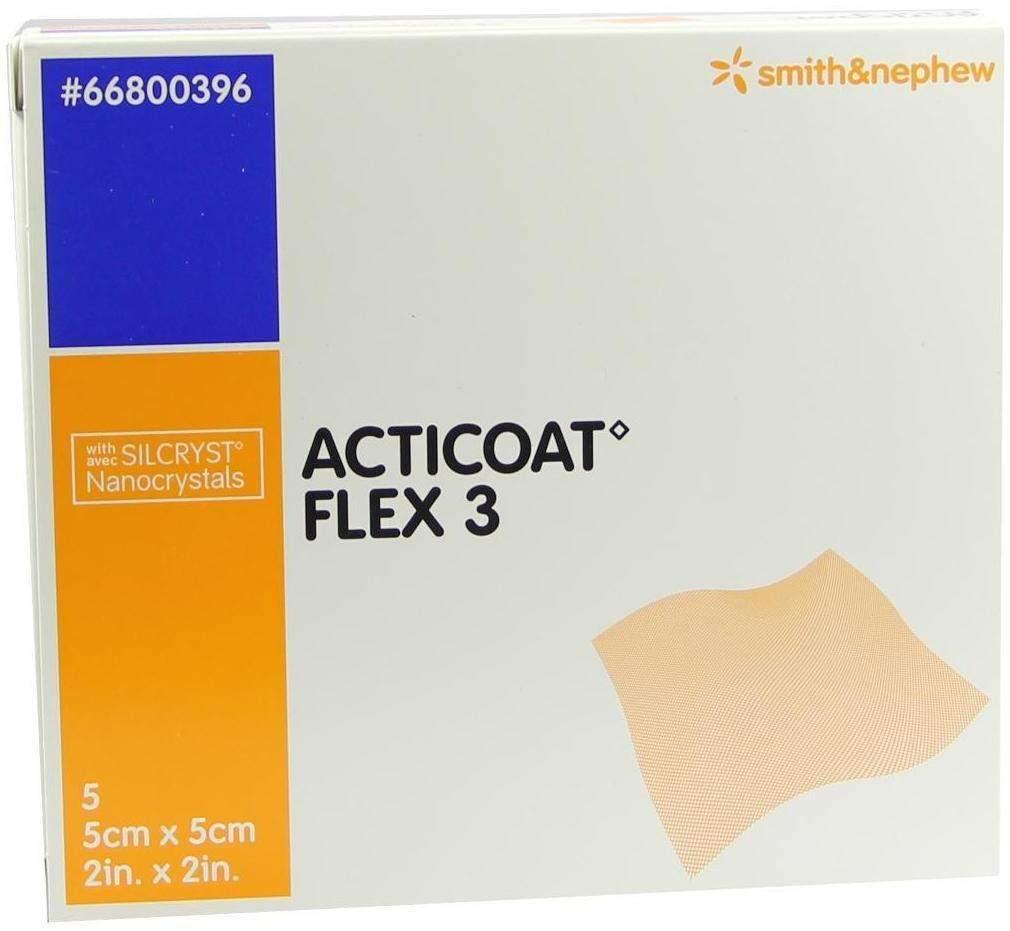 Acticoat Flex 3 5x5cm Verband