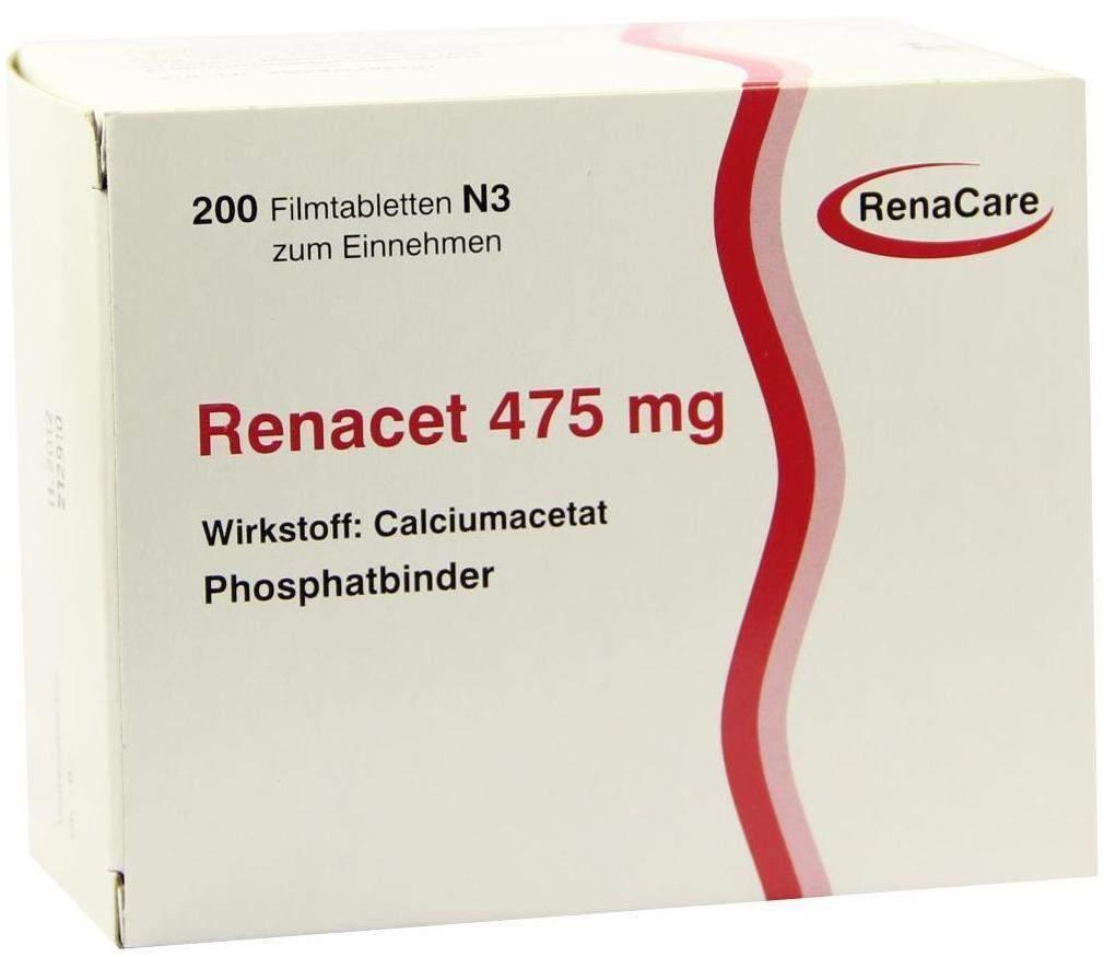 Renacet 475 mg 200 Filmtabletten