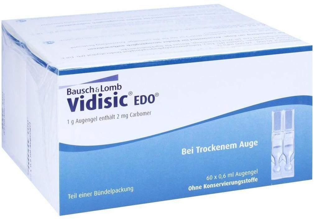 Vidisic EDO 120 x 0.6 ml Augengel - 120 X 0.6 ml Augengel