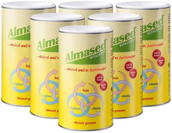 Sparset Almased Vital - Pflanzen - Eiweißkost 6...