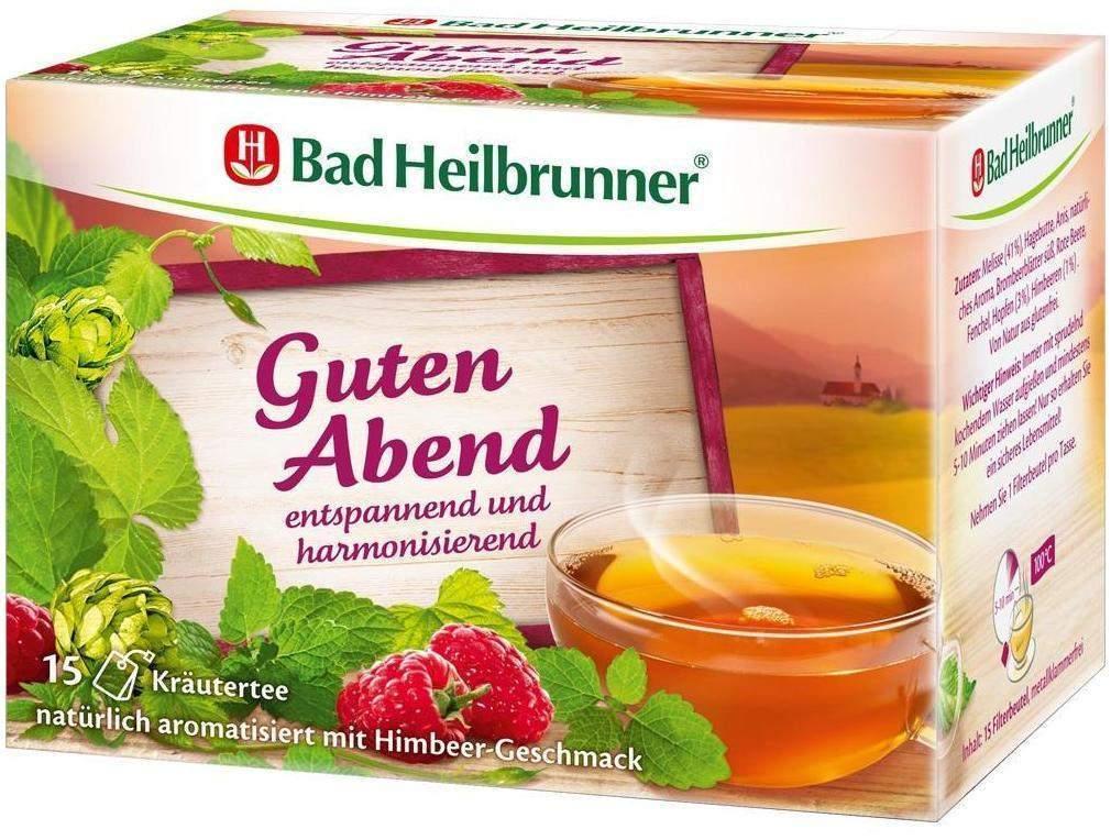 Bad Heilbrunner Tee Guten Abend Kräuter Beutel