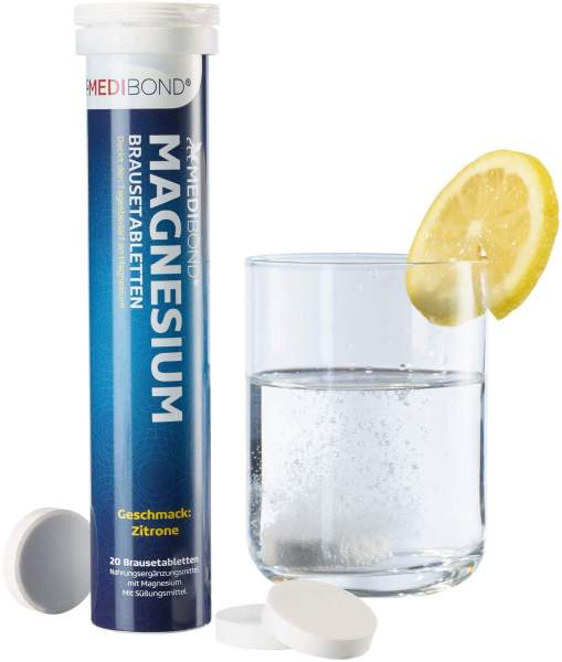 Medibond Magnesium 20 Brausetabletten