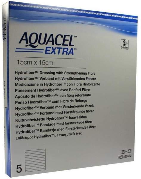 Aquacel Extra 15x15 cm Kompressen