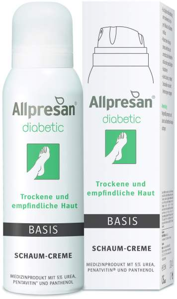 Allpresan Diabetic Fuß Basis Schaum 125 ml