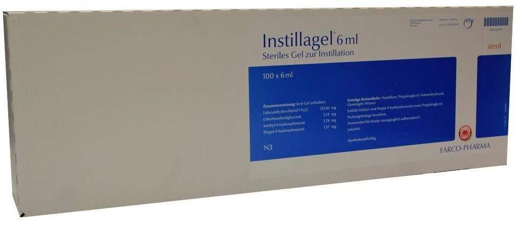 Instillagel 100X6 ml Gel