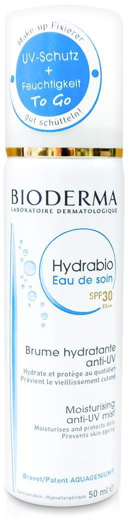 Bioderma Hydrabio Eau De Soin SPF 30 50 ml Spray