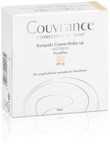 Avene Couvrance Kompakt Creme Make-up 01 Porzel...