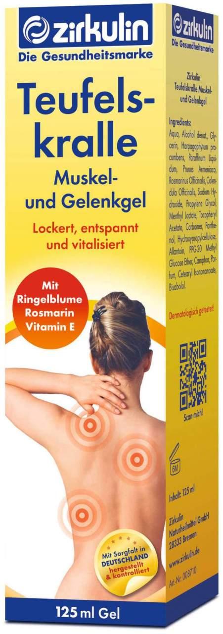 Zirkulin Teufelskralle Muskel- und Gelenkgel 12...