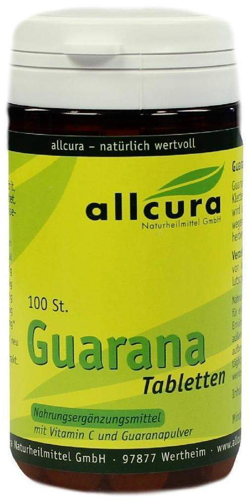 Guarana 200 mg 100 Tabletten