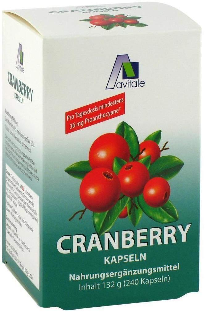 Cranberry Kapseln 400 mg 240 Stück