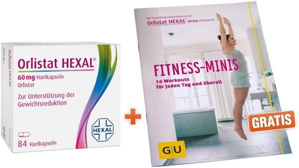 Orlistat Hexal 60mg 84 Kapseln + gratis Fitness...
