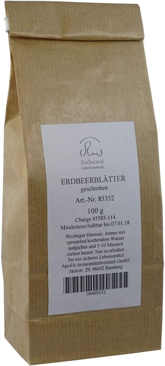 Erdbeer Blaetter - 100 g