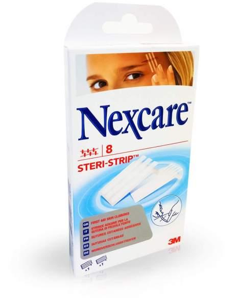 Nexcare 3m Wundverschlussstreifen steril 8 Stück