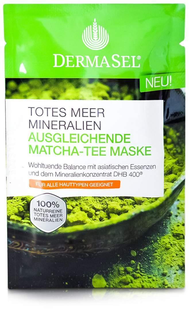 Dermasel Maske Matcha Tee ausgleichend 12 ml